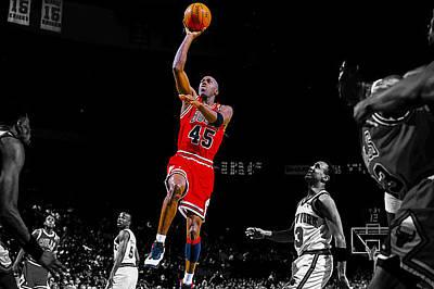 Air Jordan Return From Retirement Poster by Brian Reaves