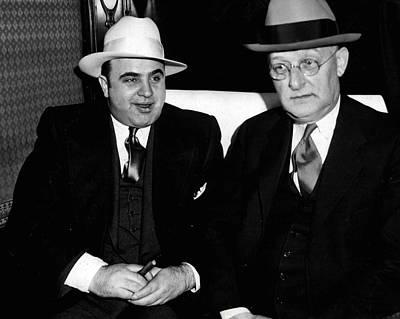 Al Capone Mafia Poster by Retro Images Archive