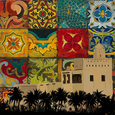 Al Maqtaa Fort Poster by Corporate Art Task Force