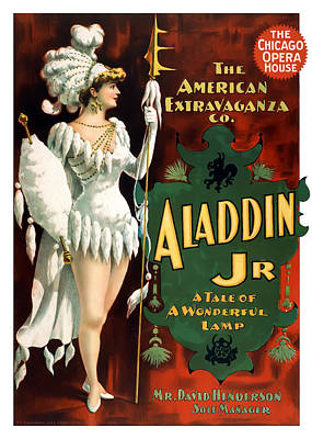 Aladdin Jr Amazon Poster by Terry Reynoldson