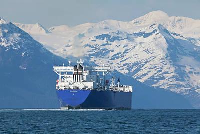 Alaska, Prince William Sound, An Empty Poster by Hugh Rose