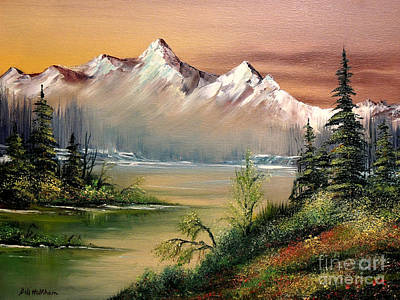 Alaska - Springtime Poster by Bill Holkham