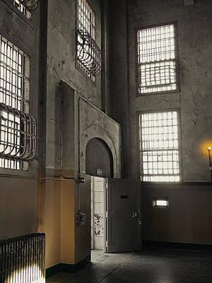 Alcatraz Doorway To Freedom Poster by Daniel Hagerman