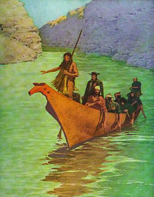 Alexander Mackenzie Poster by Frederick Remington
