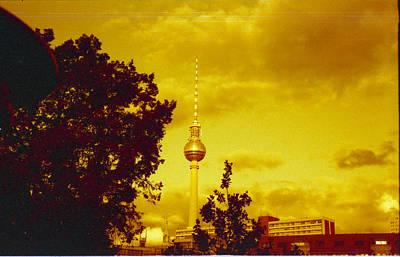 Alexander Tower Poster by Juan  Bosco