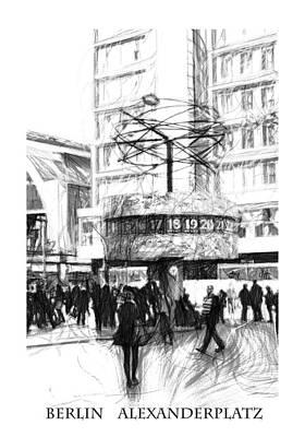 Alexanderplatz Poster by Stefan Kuhn