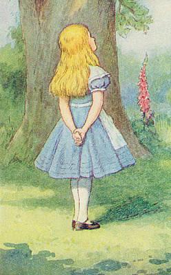 Alice In Wonderland Poster by John Tenniel