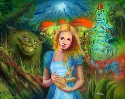 Alice  Poster by Luis  Navarro