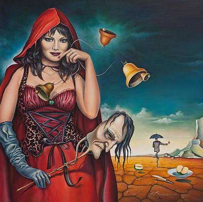 Allegorical Phantasmagoria Poster by Dragomir Minkov