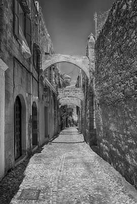 Alleys Of Rhodes Greece Poster by Mountain Dreams