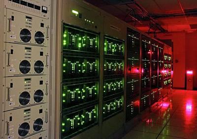 Alma Correlator Supercomputer Poster by Alma (eso/naoj/nrao), S. Argandona