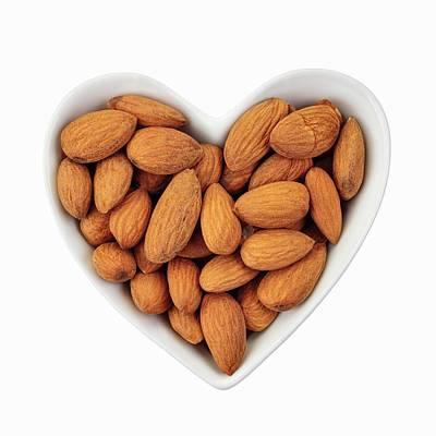 Almonds Poster by Geoff Kidd