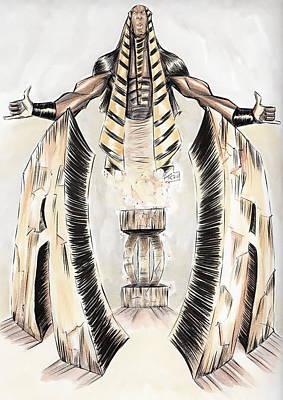 Alpha Pharaoh  Poster by Tu-Kwon Thomas