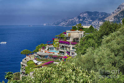 Amalfi Coast Luxury Poster by George Oze