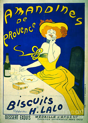 Amandines De Provence 1900 Poster by Padre Art