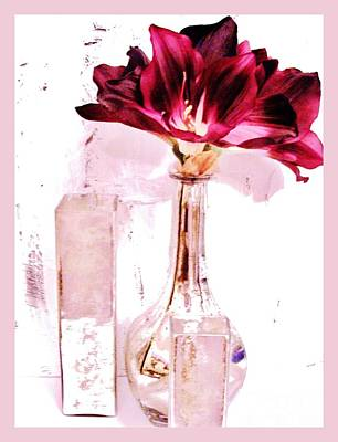 Amaryilisys Scent Poster by Marsha Heiken
