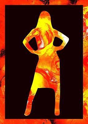 Ambitious Poster by Anastasiya Malakhova