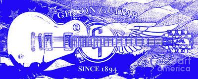 American Legend Blue Poster by Jon Neidert
