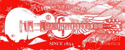 American Legend Red Poster by Jon Neidert