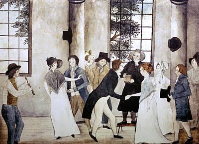 American Wedding, C1805 Poster by Granger