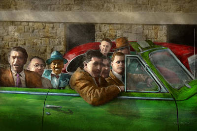 Americana - The Good Ol Boys Poster by Mike Savad