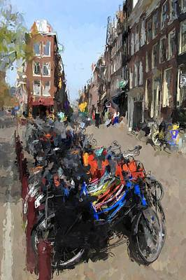 Amsterdam Poster by Steve K