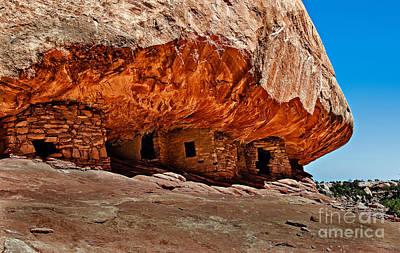 Anasazi Cliff Ruins Poster by Robert Bales