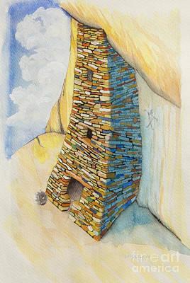 Anasazi Skyscraper Poster by Jerry McElroy