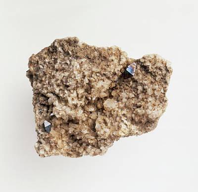 Anatase Mineral (titanium Oxide) Poster by Dorling Kindersley/uig
