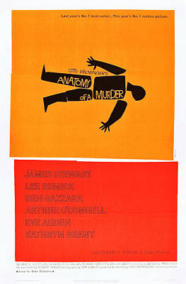 Anatomy Of A Murder, 1959 Poster by Everett