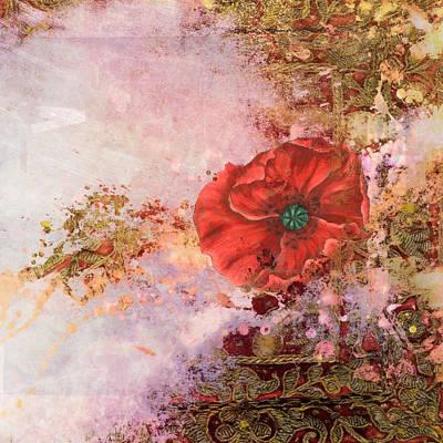 Ancientfuture_poppydreams Poster by Aimee Stewart