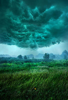 And Then I Ran Poster by Phil Koch