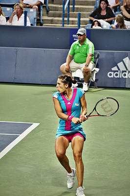 Andrea Petkovic Poster by Rexford L Powell
