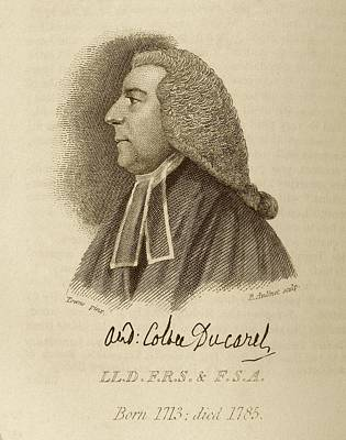 Andrew Ducarel Poster by Middle Temple Library