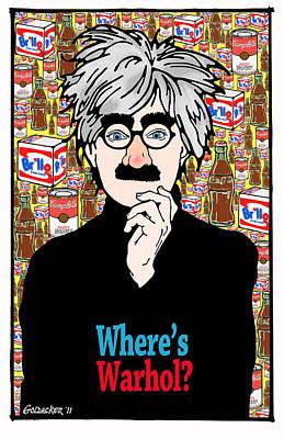 Andy Warhol Poster by John Goldacker