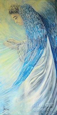 Angel Divine Poster by Caroline Street