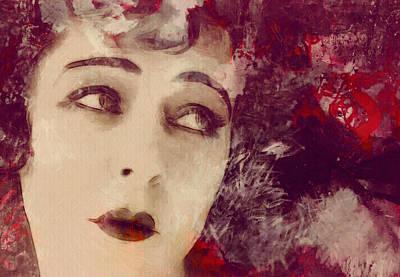 Angel Eyes Poster by Stefan Kuhn