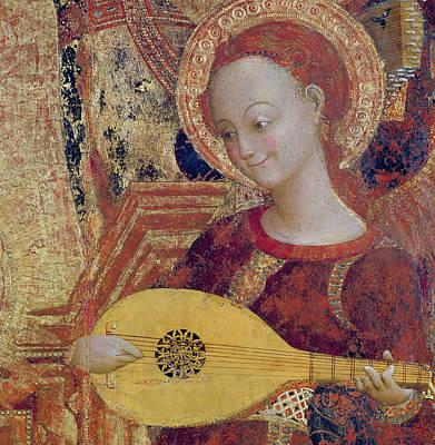 Angel Musician Poster by Sassetta
