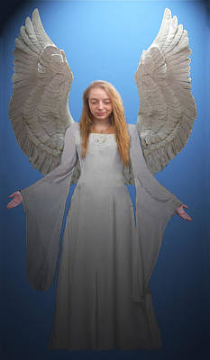Angelic Angel Poster by Eric Kempson