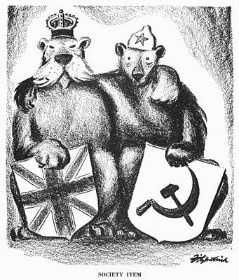 Anglo-soviet Alliance, 1941 Poster by Granger
