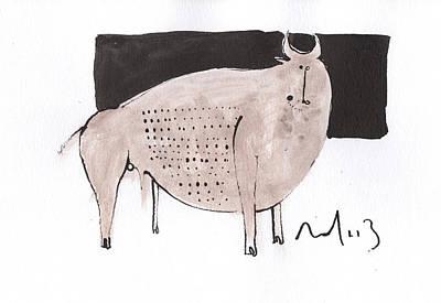 Animalia Taurus No. 7  Poster by Mark M  Mellon