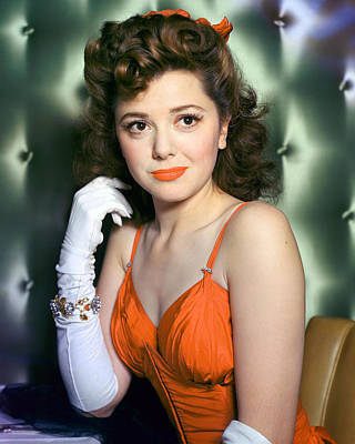 Ann Rutherford Poster by Silver Screen