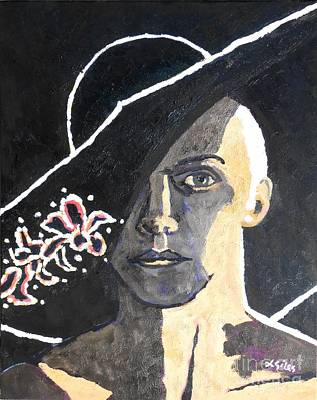Annie Lennox Poster by Lesley Giles