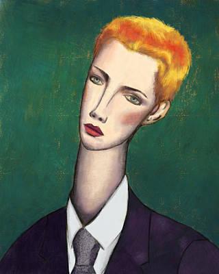 Annie Lennox Modigliani Poster by Ixie