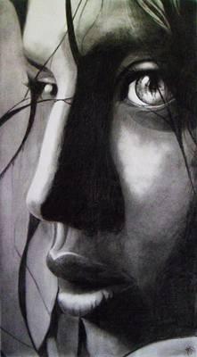 Anonima Poster by Macarena Taboada
