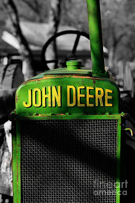 Another Deere Poster by Cheryl Young