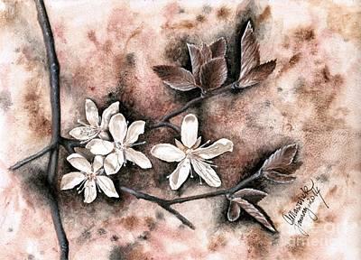 Another Plum Blossom Poster by Amelia Macioszek