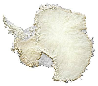 Antarctica Poster by Mikkel Juul Jensen