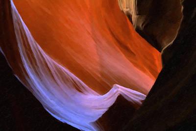 Antelope Canyon 6 Poster by Ingrid Smith-Johnsen