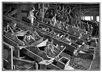 Anthracite Coal Industry Poster by Science Photo Library